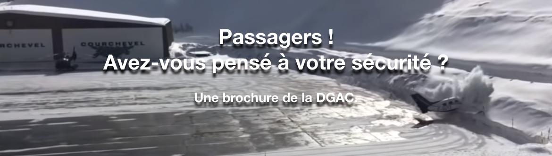 Passagers ! Avez-vous pensé à votre sécurité ?