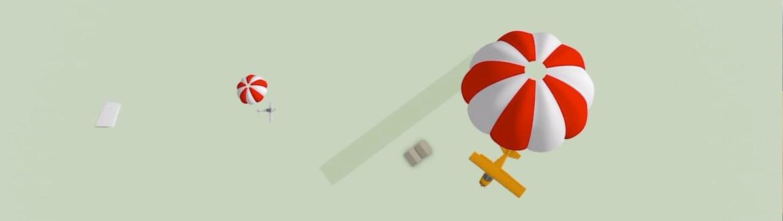 Le parachute de secours