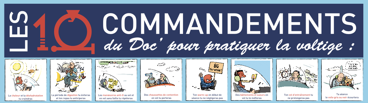 G-Loc, les 10 commandements du doc